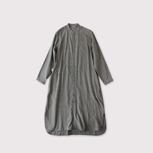 Front open night shirt dress