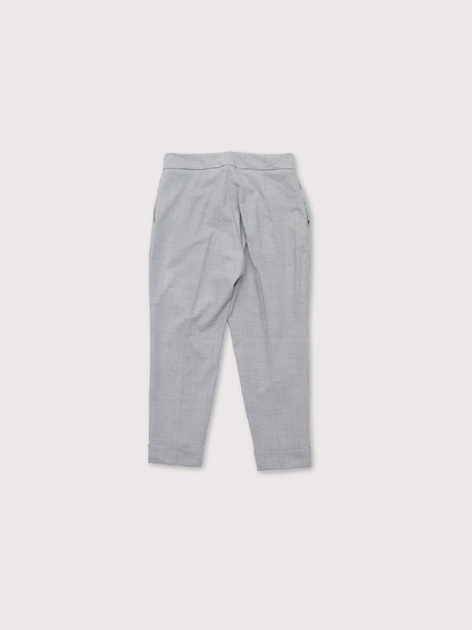 Drawstring easy tapered pants 2