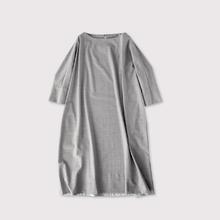 Long balloon dress 2~wool