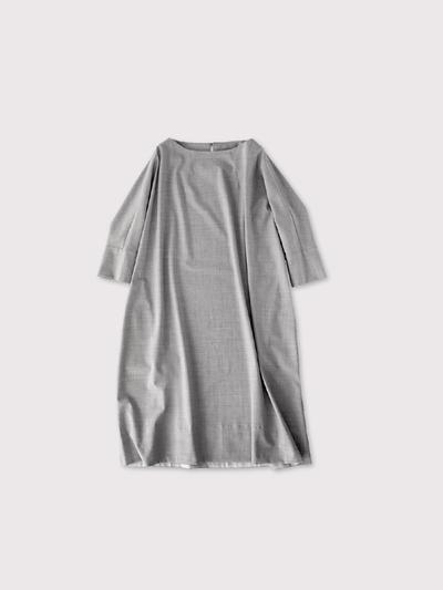 Long balloon dress 2~wool 1