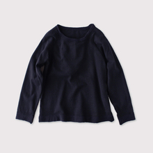 Raglan sleeve long T-shirt~wool