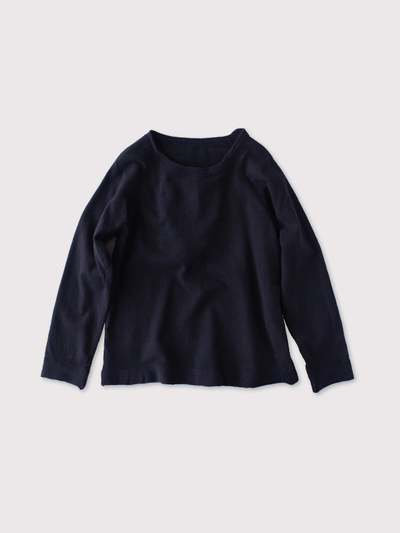 Raglan sleeve long T-shirt~wool 1