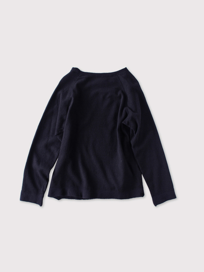 Raglan sleeve long T-shirt~wool 2