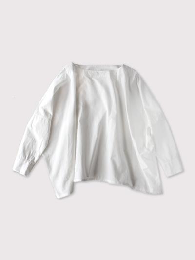 Boat neck big shirt~cotton【SOLD】 1