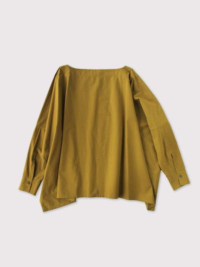 Boat neck big shirt~cotton【SOLD】 2