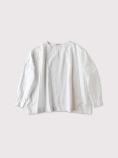 Shoulder button big slipon blouse 【SOLD】 1