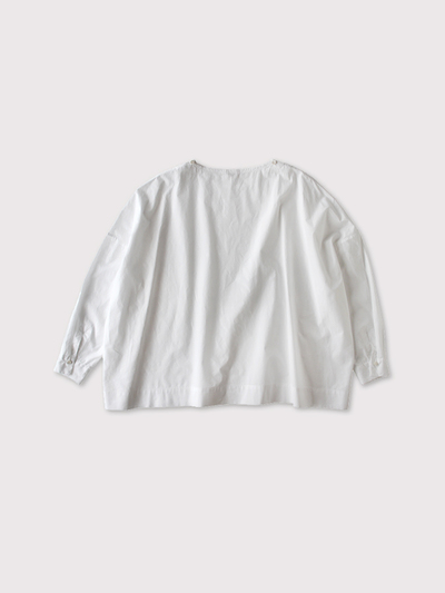 Shoulder button big slipon blouse 【SOLD】 3