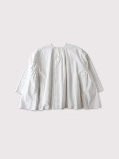 Side gather tent line blouse~cotton 3