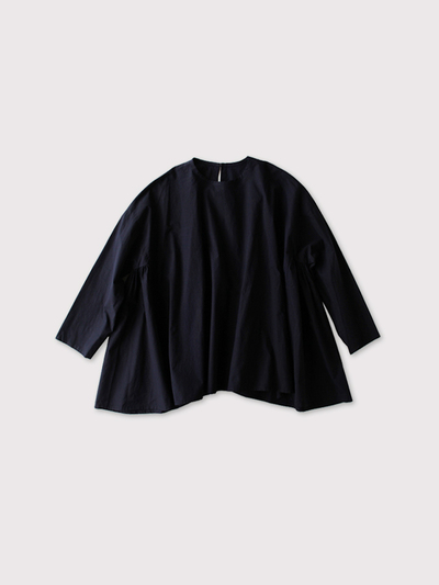 Side gather tent line blouse~cotton 【SOLD】 2