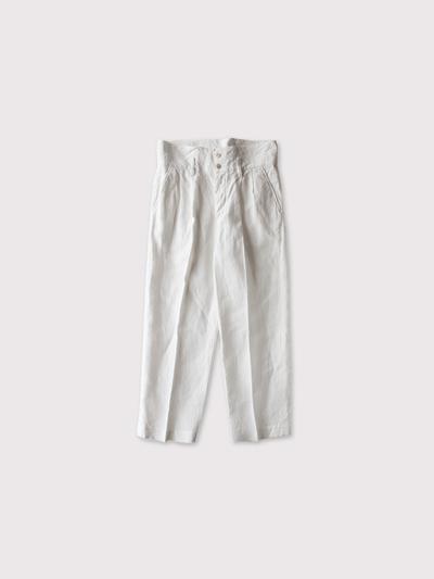 High waist pants~linen 【SOLD】 1