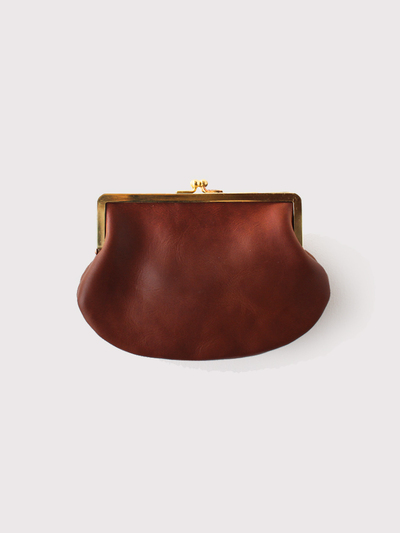 Double gamaguchi purse S~cow leather 【SOLD】 1