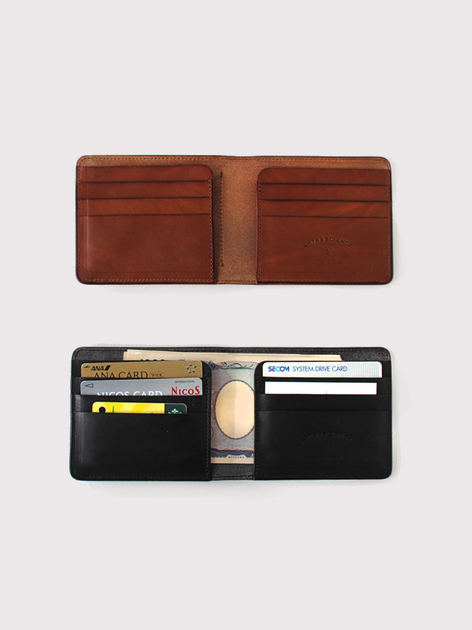 Box pocket wallet~cow leather 【SOLD】 3