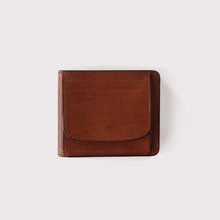 Box pocket wallet~cow leather 【SOLD】