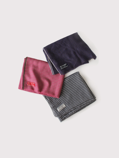 Fringe shawl M~wool 【SOLD】 1