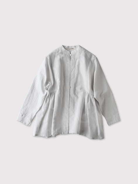 Side gather jaket~cotton linen 【SOLD】 2