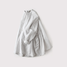 Side gather jaket~cotton linen 【SOLD】