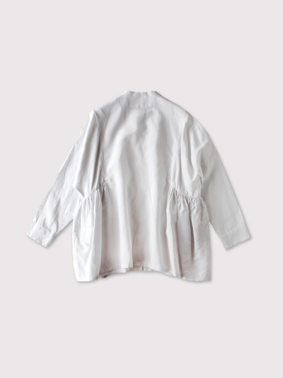 Side gather jaket~cotton linen 【SOLD】 3