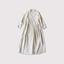 Tuck bottom wrap dress~linensilk 【SOLD】 1