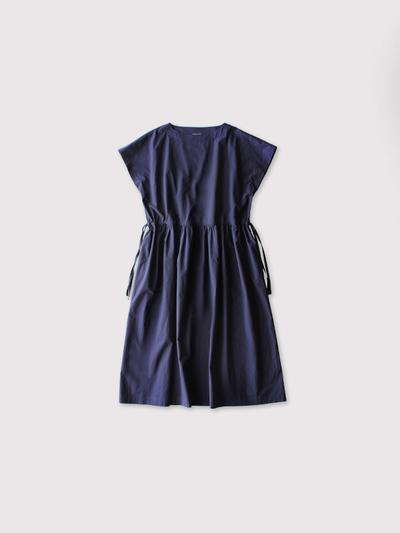 Drawstring long dress~cotton 【SOLD】 1