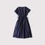 Drawstring long dress~cotton 【SOLD】 2