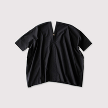 V-neck big short tunic~cotton 【SOLD】