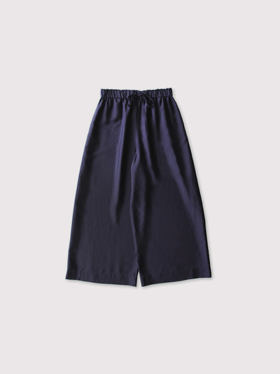 Draw string wide pants~silk 【SOLD】 1