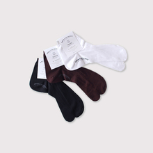 Plain cotton tabi socks  【SOLD】