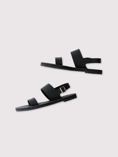 Triple belt sandal 3