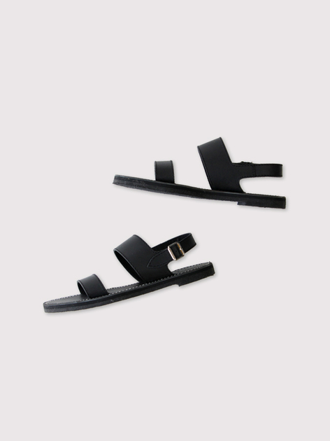 Triple belt sandal【SOLD】 3