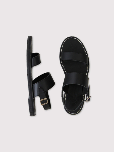 Triple belt sandal【SOLD】 2