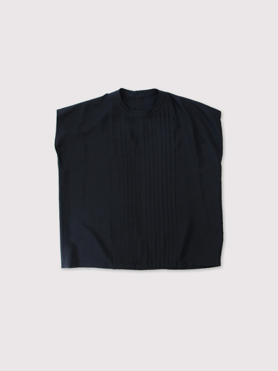 No sleeve tuck blouse 【SOLD】 1