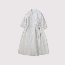 Tuck bottom wrap dress 【SOLD】