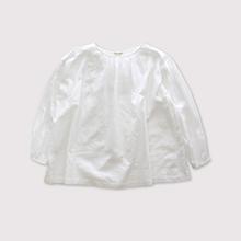 shoulder button gather blouse short 【SOLD】