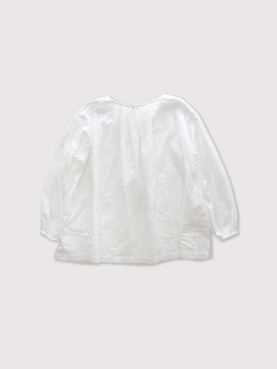 shoulder button gather blouse short 【SOLD】 3
