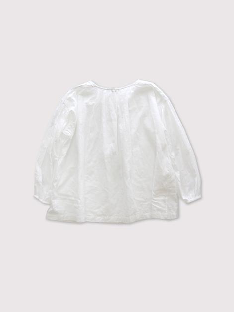 shoulder button gather blouse short 【SOLD】 3