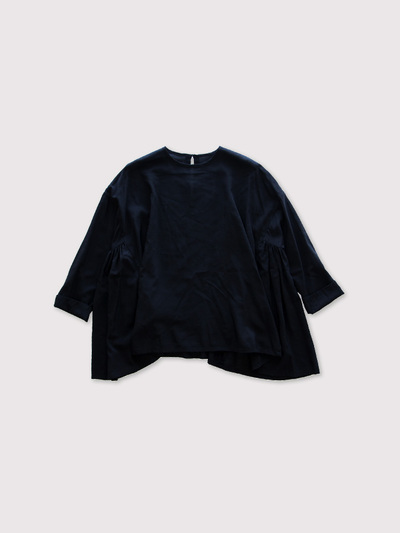 Side gather tent line blouse 【SOLD】 1