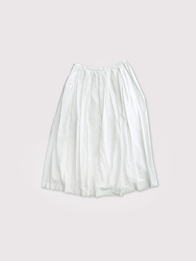 Box tuck skirt 1