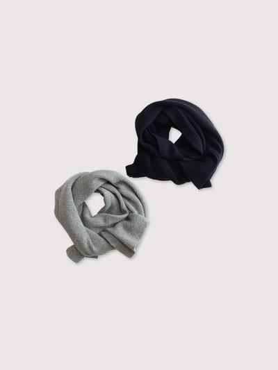 Rib knit muffler【SOLD】 1