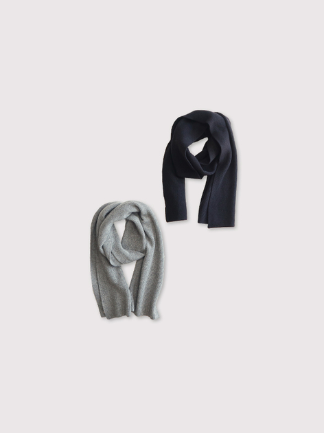 Rib knit muffler【SOLD】 2