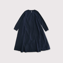 Side tuck trapeze dress【SOLD】