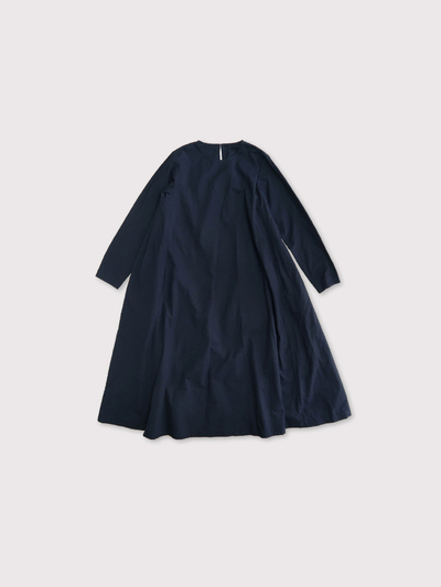Side tuck trapeze dress【SOLD】 1