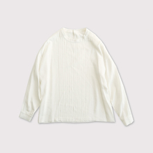 Front tuck blouse longsleeve【SOLD】