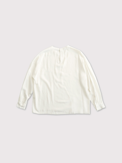 Front tuck blouse longsleeve【SOLD】 3