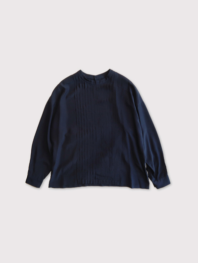 Front tuck blouse longsleeve【SOLD】 1
