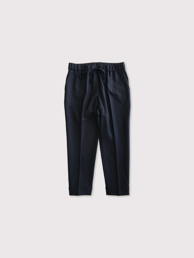 Draw string easy tapered pants 1