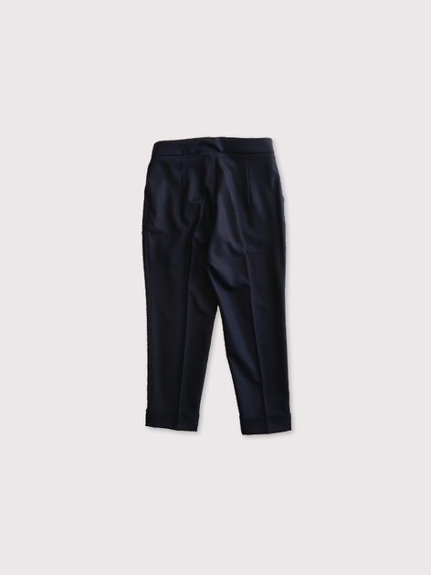 Draw string easy tapered pants 3