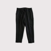 Draw string easy tapered pants【SOLD】