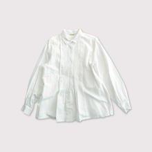 Front tuck pullover shirt【SOLD】