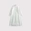 Front open tuck shirt dress 1