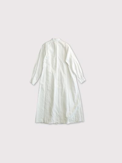 Front open tuck shirt dress 2